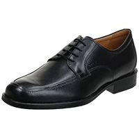 Geox u federico y - scarpe stringate uomo, nero (blackc9999), 42. 5 eu