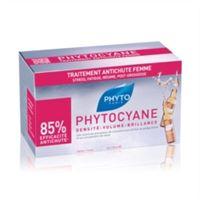 Phyto Phytocyane trattamento anticaduta capelli donna 12 fiale da 7, 5 ml