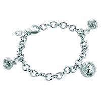 Roberto giannotti chiama angeli sfa53 gioiello donna bracciale argento zirconi