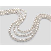 Miluna fili di perle akoya 1mau885_40nl202 gioiello donna collana perle