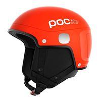 POC pocito skull light, casco da sci alpino unisex-bambini, arancio (fluorescent orange), xs/s