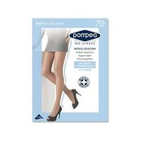 Pompea collant perfect balance contenitivo 70 den compressione media nature tag. 5