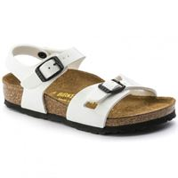 Birkenstock rio white sandalo bambini - calzata stretta