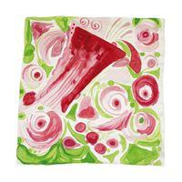 Carla caroli foulard prati in fiore cf01 foulard prati in fiore