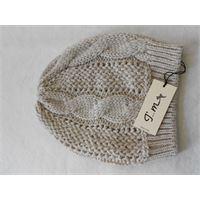 Italmaglia berretto trecce effetto tricot calda lana