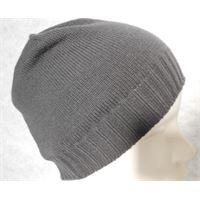 Italmaglia berretto con bordo a coste 100% cashmere