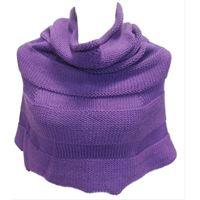 Italmaglia poncho-coprispalle links - 100% lana