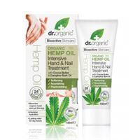 Dr. Organic hemp oil crema trattamento intensivo mani e unghie 100 ml