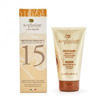 Arganiae solari argania crema solare protezione media spf 15 a base di olio d'argan 150 ml