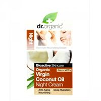 Dr. Organic crema viso notte night cream organic virgin coconut oil 50 ml