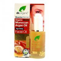 Dr. Organic moroccan argan oil olio siero viso 30 ml