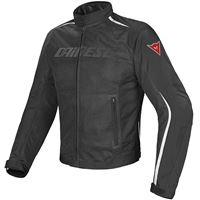 Dainese giacca moto Dainese hydra flux d-dry nero bianco