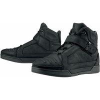 Icon scarpe moto pelle Icon 1000 truant nero