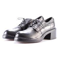 MOMA scarpe donna allacciate nero MOMA