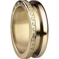 Bering anello esterno 599-3222-73 gioiello donna anello acciaio