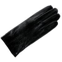 Roeckl - klassiker fleece, guanti da uomo, nero (schwarz (black 000)), 9,5