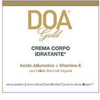 DOAFARM GROUP Srl doa gold crema corpo idr. 200ml