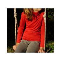 Engel dolcevita in lana seta -col. Rosso