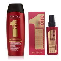 Revlon uniq one all in one kit shampoo + hair treatment
