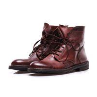 MANOVIA 52 scarpe donna stivali marrone allacciate MANOVIA 52