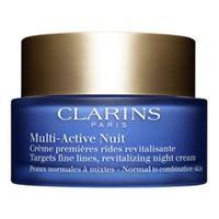 Clarins multi-active nuit - crema notte prime rughe