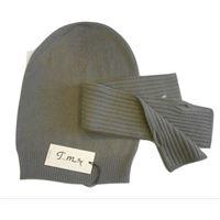 Italmaglia completo berretto e manicotto - 100% pura lana