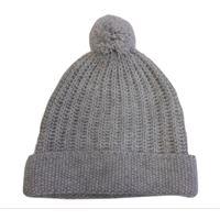 Italmaglia berretto effetto tricot in 100% lana - colore panna