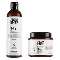 Alfaparf pigments kit nutritive shampoo + mask