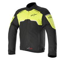 Alpinestars giacca moto Alpinestars hyper drystar nero giallo fluo