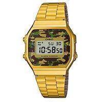 Casio collection a168w a168wegc-3ef orologio unisex quarzo digitale cronografo