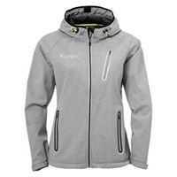 kempa giacche kempa core 2. 0 softshell xs dark grey melange