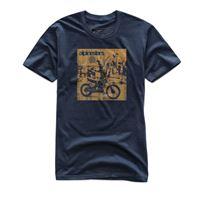 Alpinestars t-shirt Alpinestars stunt premium tee blu navy
