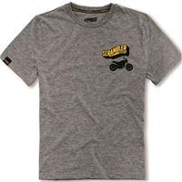 DUCATI - t-shirt originale DUCATI big banner scrambler 98769181 in cotone e poliestere