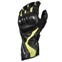 Macna guanti moto pelle estivi racing Macna apex nero giallo