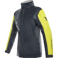 Dainese giacca antipioggia donna Dainese storm lady antracite giallo fluo