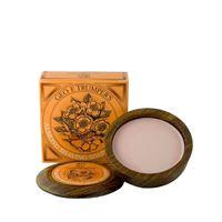 Geo f trumper almond hard shaving soap wooden bowl 80g