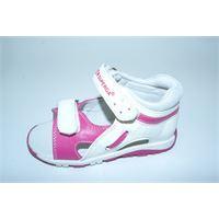 Superga sandalino Superga bianco e rosa