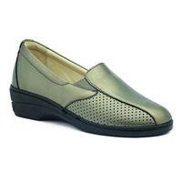 Susimoda scarpa Susimoda con plantare estraibile in pelle peltro traforata.