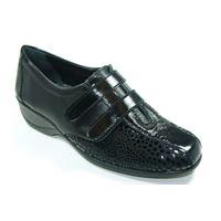 Susimoda scarpa Susimoda in naplack e tessuto elasticizzato.
