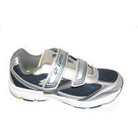 Lotto sneakers Lotto easerun color blu con strappi.