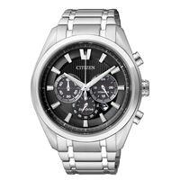 Citizen crono supertitanio 4010 ca4010-58e orologio uomo eco drive cronografo