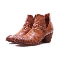 OFFICINE CREATIVE scarpe donna stivali marrone chiaro OFFICINE CREATIVE