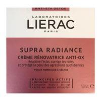 Lierac linea supra radiance crema giorno anti-ox anti-età rimpolpante 50 ml