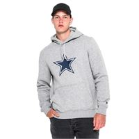 New Era dallas cowboys pullover team logo hoodie l black
