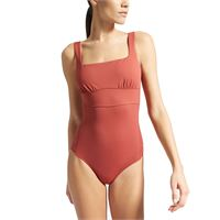 MAX MARA LEISURE costume intero zircone donna