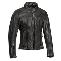 Ixon giacca moto donna pelle estiva Ixon crank air lady nero