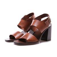 MANOVIA 52 scarpe donna scarpe tacco marrone MANOVIA 52