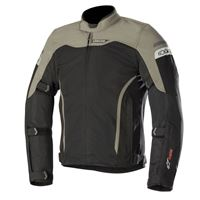 Alpinestars giacca moto touring estiva Alpinestars leonis drystar air nero verde militare