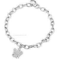Roberto giannotti angeli gia287 gioiello donna bracciale argento