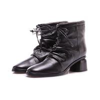 HALMANERA scarpe donna stivali nero HALMANERA